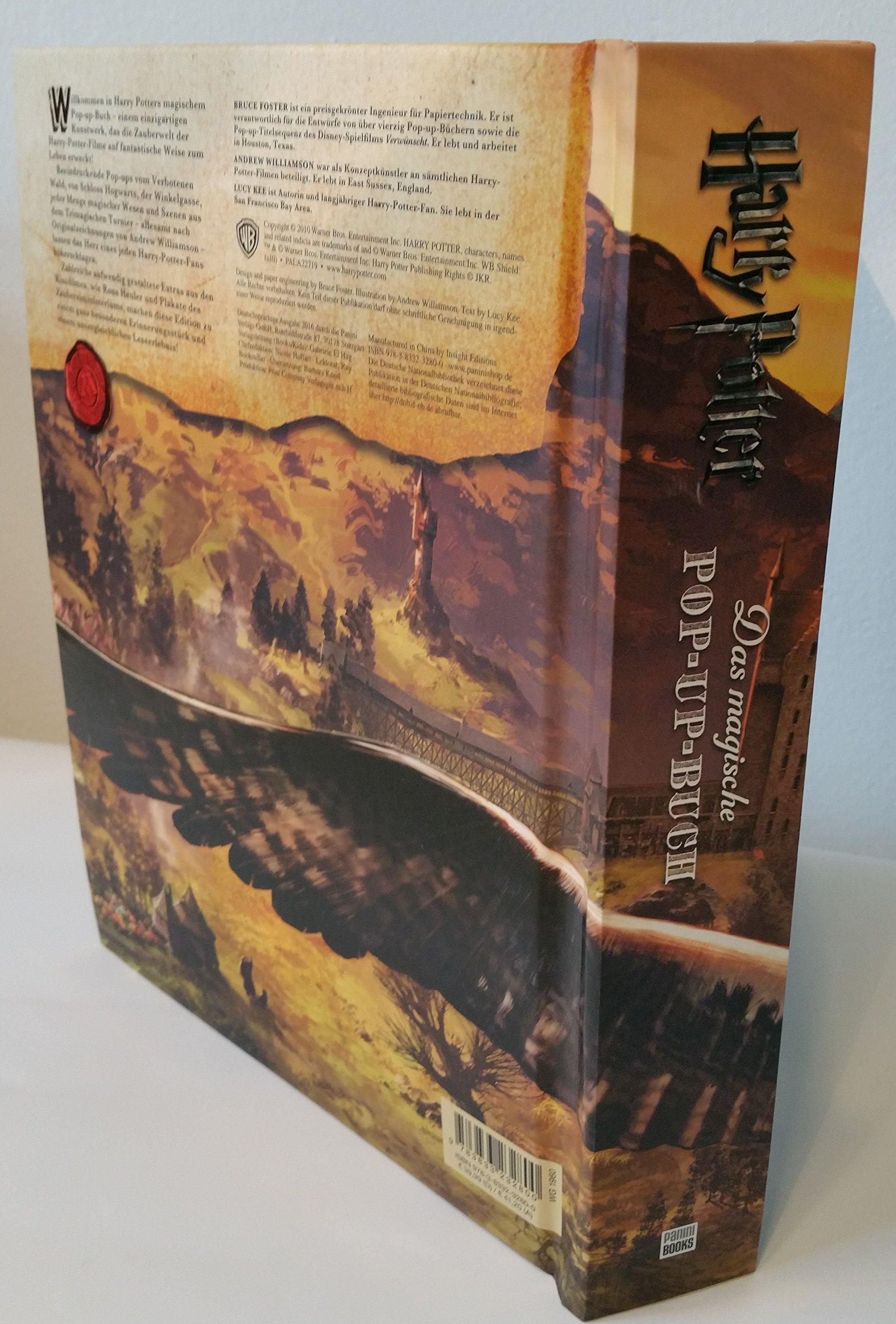 Harry Potter Das magische Pop up Buch Amazon Bruce Foster