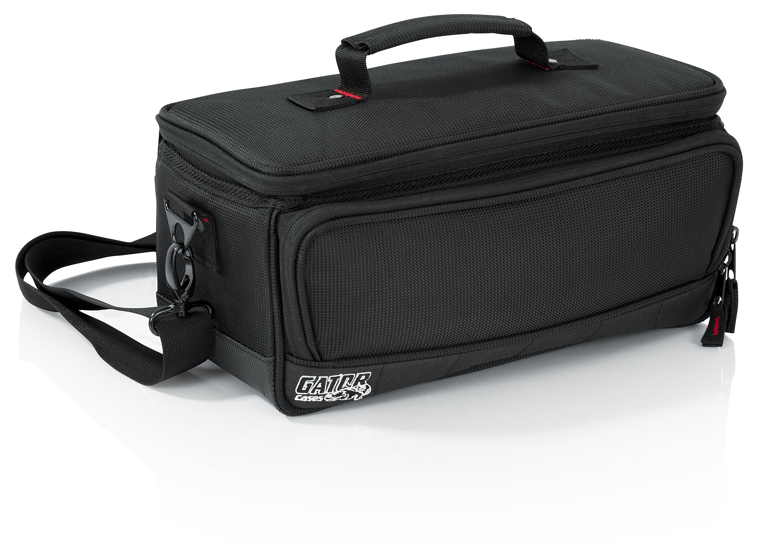 Gator Cases Padded Mixer Carry Bag; Fits Behringer X-AIR Series Mixers; 13.1'' x 6.25'' x 6'' (G-MIXERBAG-1306)