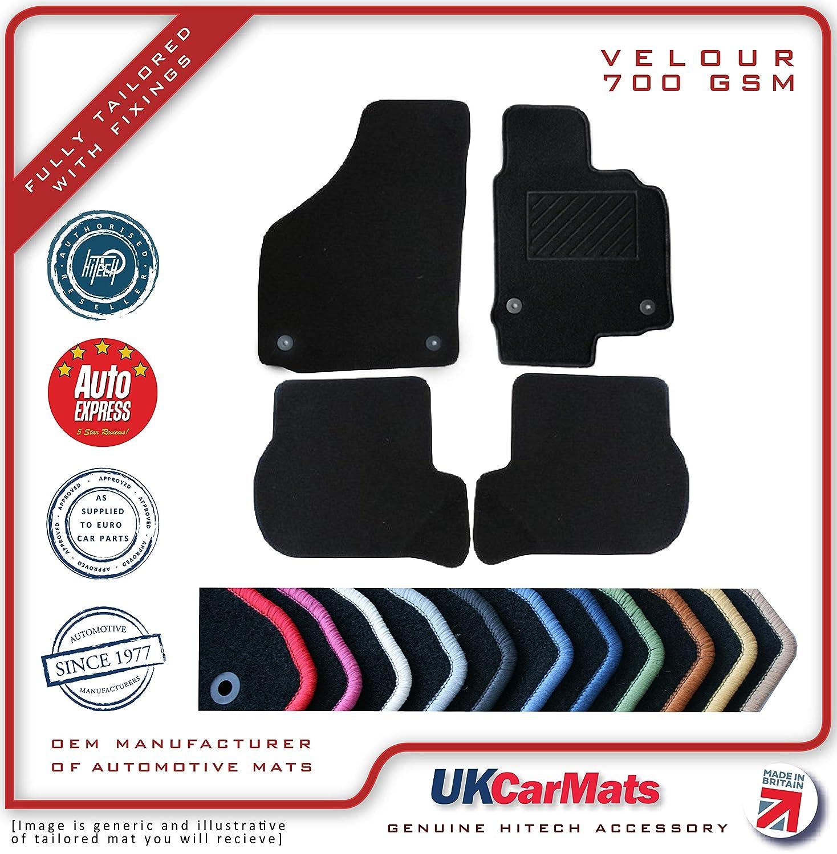 /Mini One//Cooper R55//R56/corte Velour alfombra alfombras de coche 2007//–/14 Genuine/