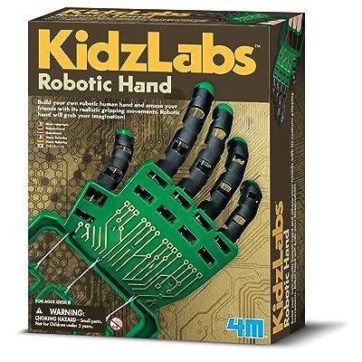 4M- Hand Robotica, (5603284): Great Gizmos Kidz Labs Robotic Hand: Juguetes y juegos