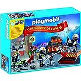 "Playmobil Calendario de Adviento - Pack ""Bomberos"" con juego de cartas (5495)"