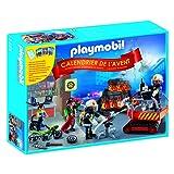 Playmobil Advent Calendar 'Fire Rescue Operation' Building Set