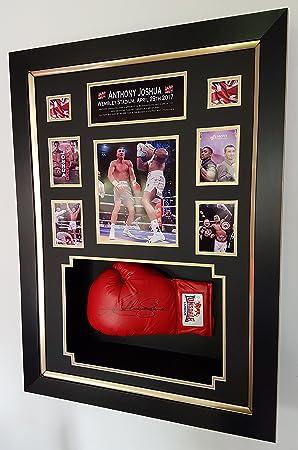 29b50b00 www.signedmemorabiliashop.co.uk New ANTHONY JOSHUA Signed Boxing Glove.  Wembley,