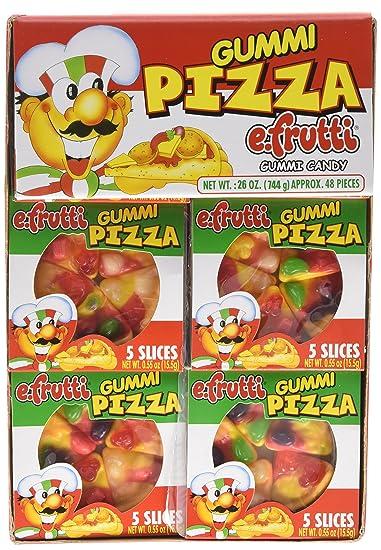 Gummi Pizza by E-Fruitti 48 Count (Net Wt. 26oz)  sc 1 st  Amazon.com & Amazon.com : Gummi Pizza by E-Fruitti 48 Count (Net Wt. 26oz ... Aboutintivar.Com