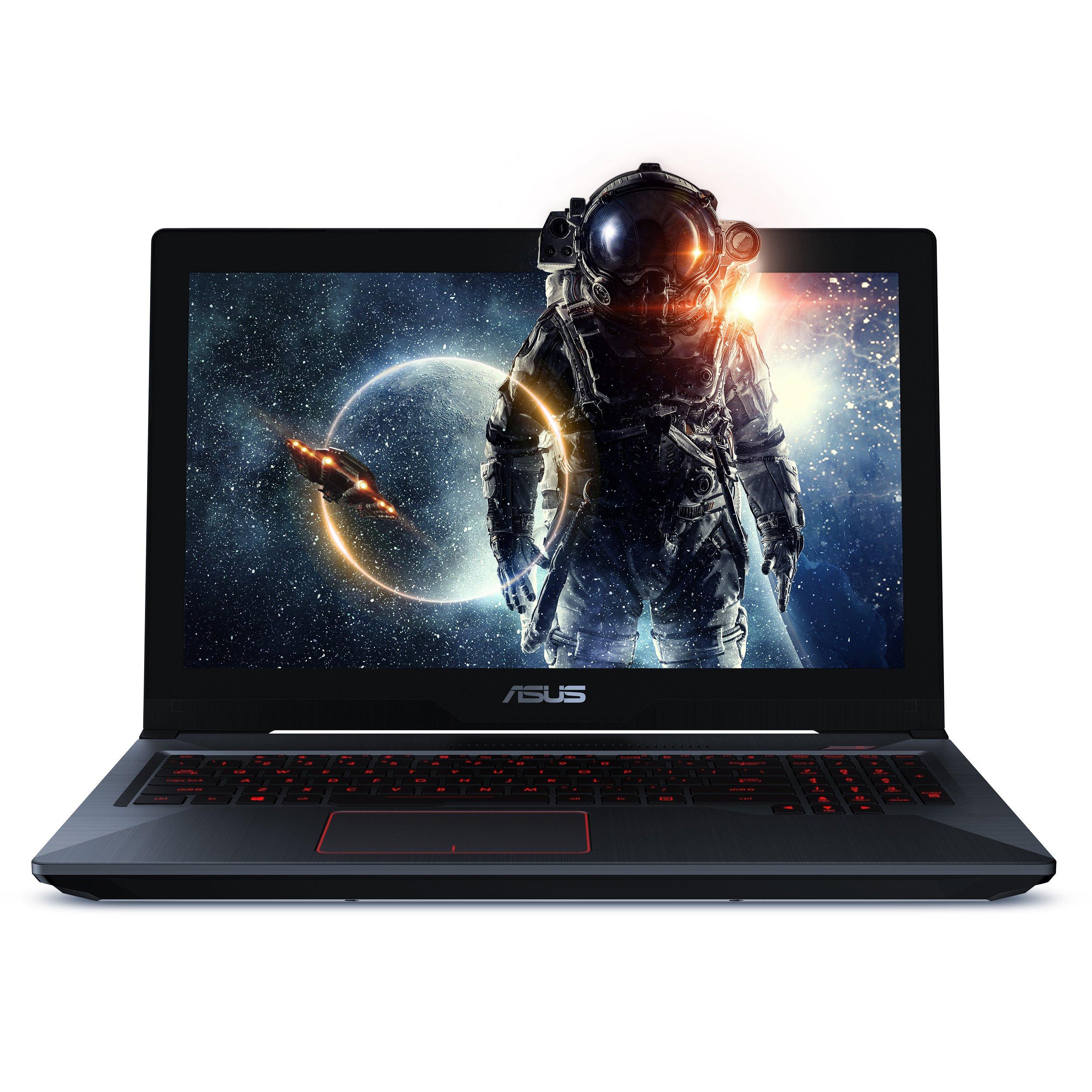 "ASUS FX503VM 15.6"" FHD Powerful Gaming Laptop, Intel Core i7-7700HQ Quad-Core 2.8GHz (Turbo up to 3.8GHz), 3GB GTX 1060, 128GB SSD + 1TB HDD, 16GB DDR4, Windows 10"