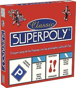 Oferta amazon: Falomir Superpoly, Juego de Mesa, Clásicos, multicolor (646375)