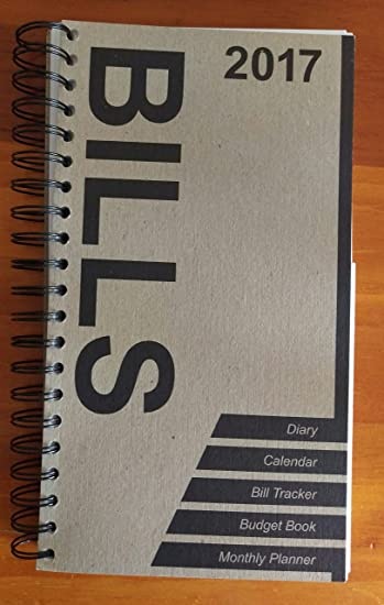 Amazon.Com : Bill Organizer Book 2017 : Office Products