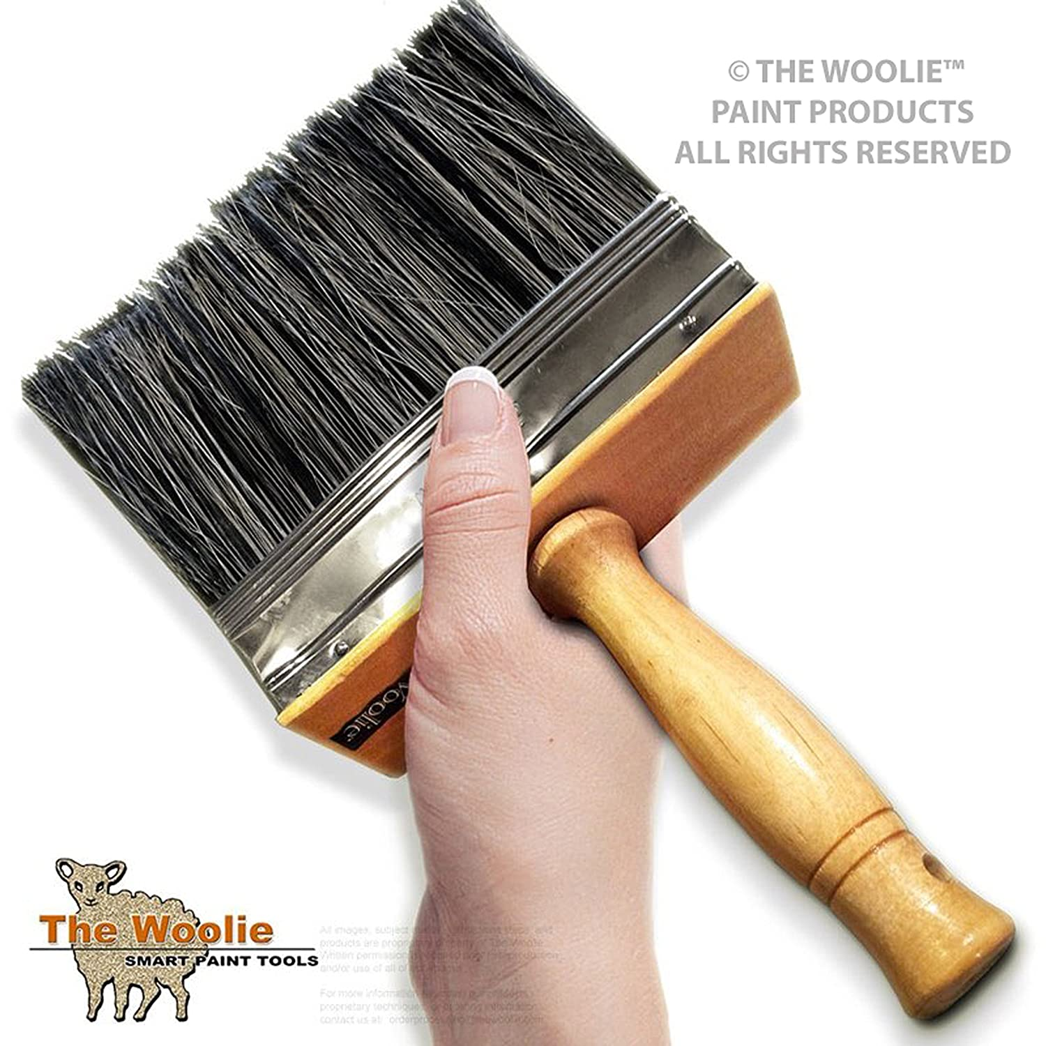 6 Inch SUPER SIZE Multi Purpose Painting and Faux Finish Painting