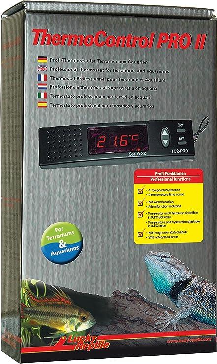 Lucky Reptile TC2-PRO Thermo Control Pro II - Termostato con reducción Nocturna para terrarios