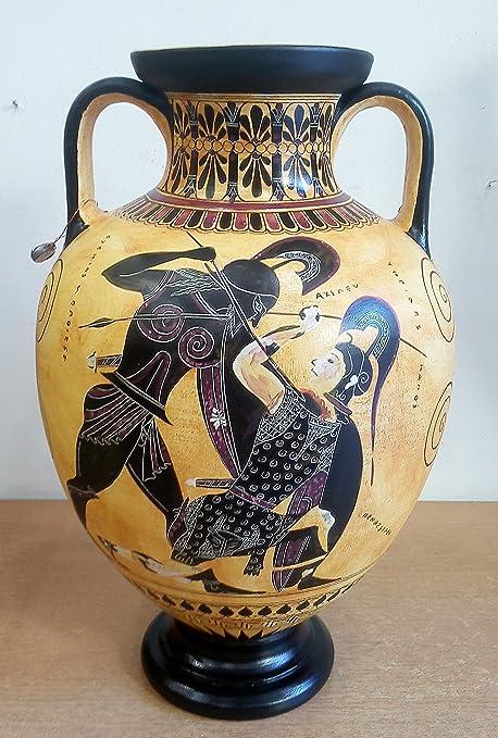Achilles And Penthesileia Amphora Vase Exekias British Museum