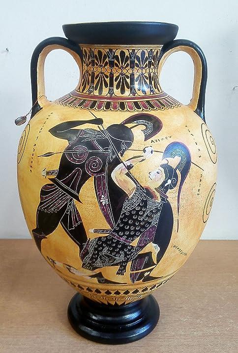 Amazon Achilles And Penthesileia Amphora Vase Exekias British