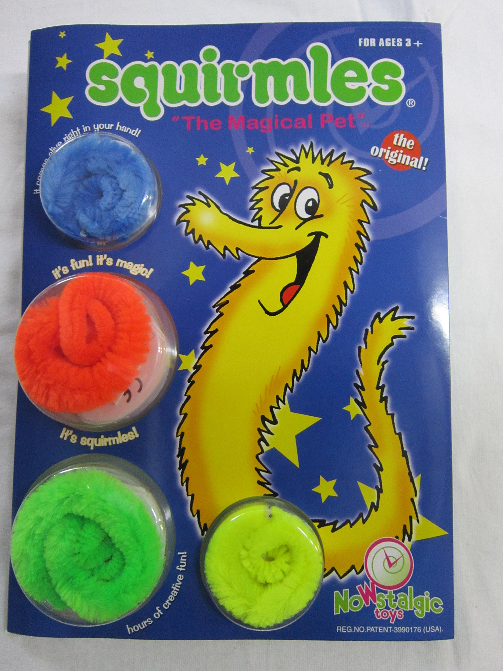 Nowstalgic Toys 4 SQUIRMLES Create Your OWN World Fun Pack by Nowstalgic Toys
