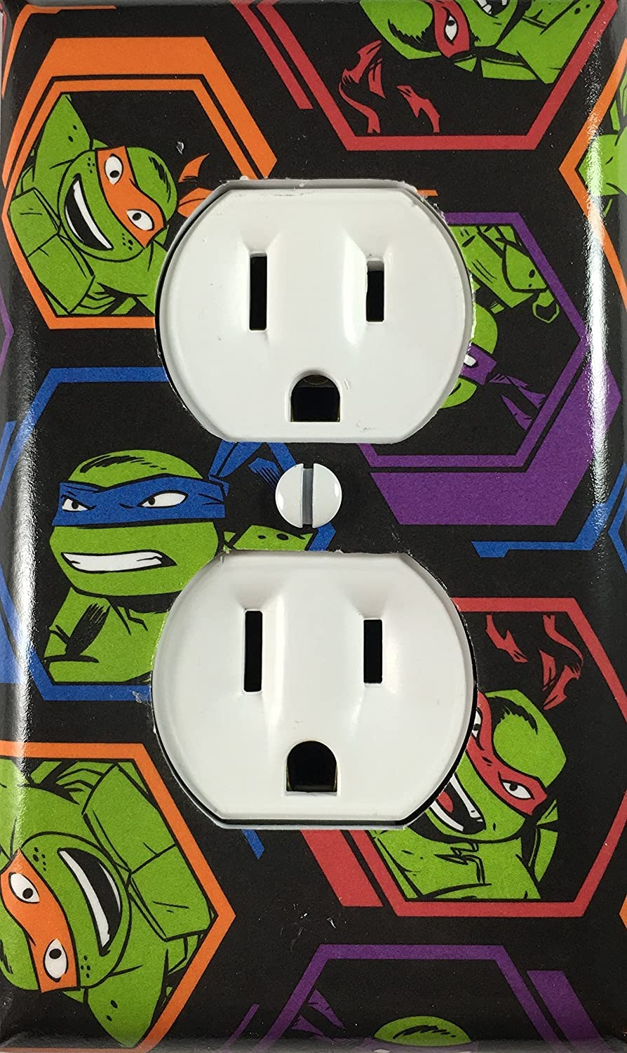 Teenage Mutant Ninja Turtles Decorative Outlet Cover Wall Plate