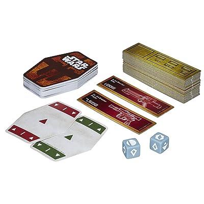 Hasbro HASE2445EU4 Star Wars Han Solo Card Game, Multi-Colour: Toys & Games