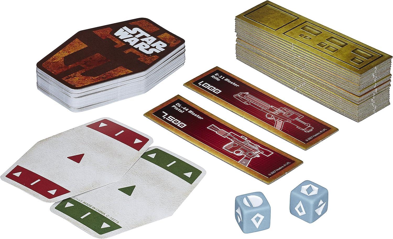 Hasbro Gaming - Juego de Cartas Han Solo Star Wars (Hasbro E2445EU4): Amazon.es: Juguetes y juegos