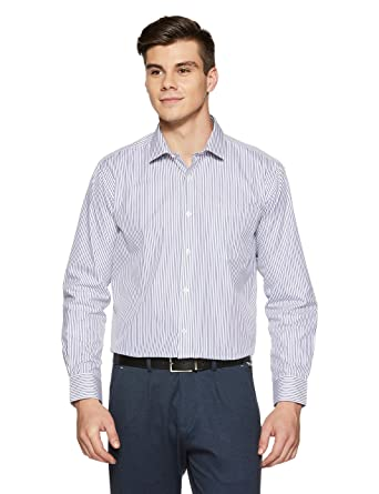 Amazon Brand - Arthur Harvey Men's Formal Shirt Formal Shirts at amazon