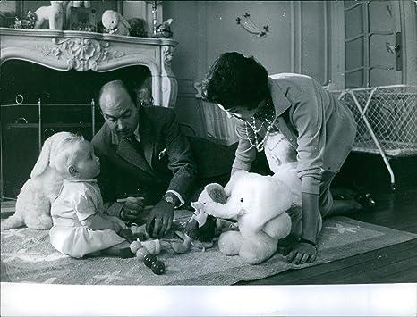 Foto vintage di principe alexander karađorđević e maria pia di