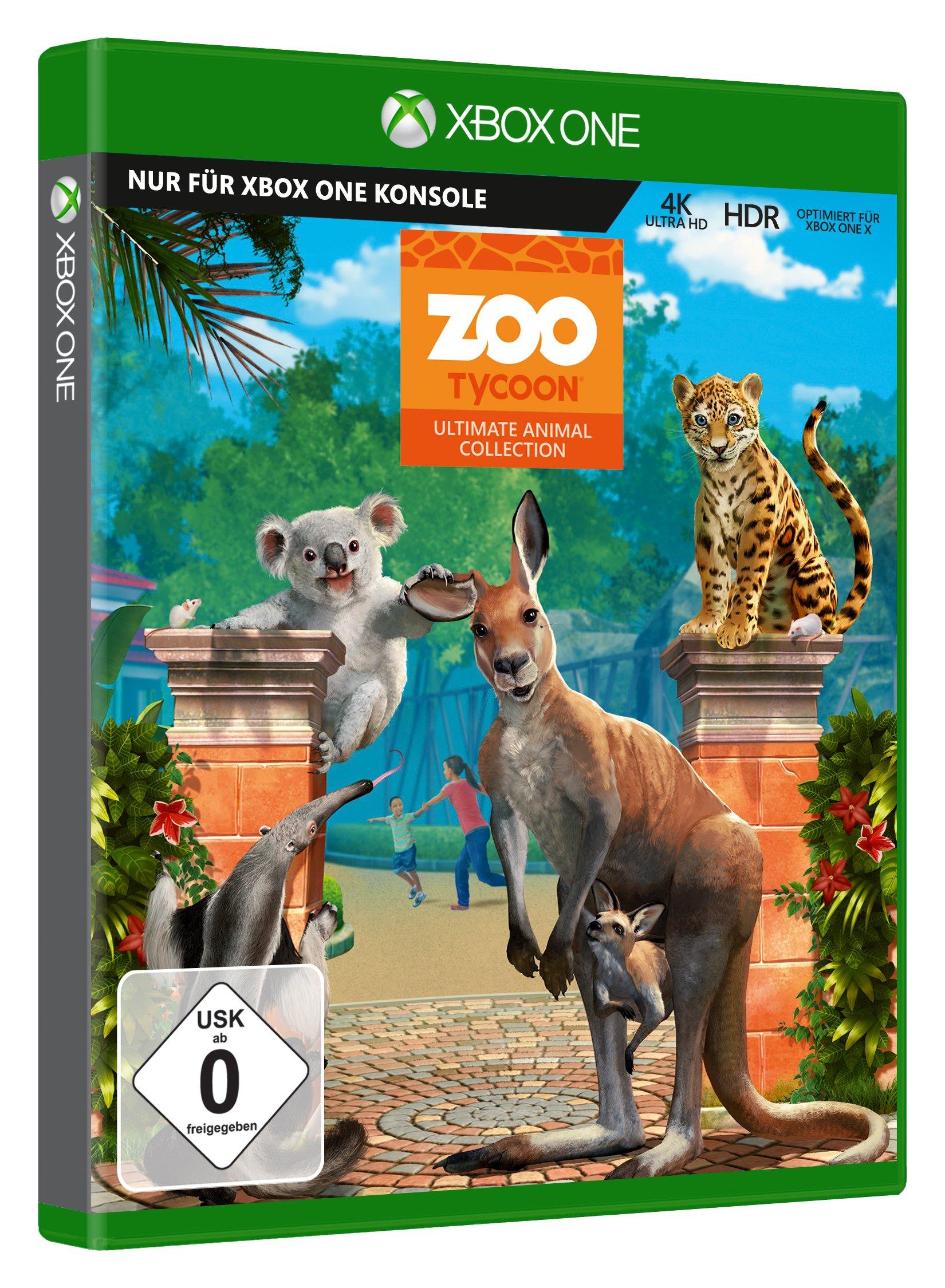 Zoo Tycoon - Zookeeper Collect. (XBox One): Amazon.es: Libros en idiomas extranjeros