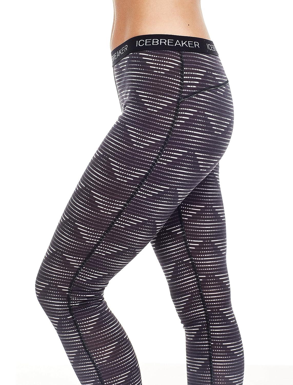 Icebreaker Oasis Leggings de la Mujer Diamond Line Bodyfit
