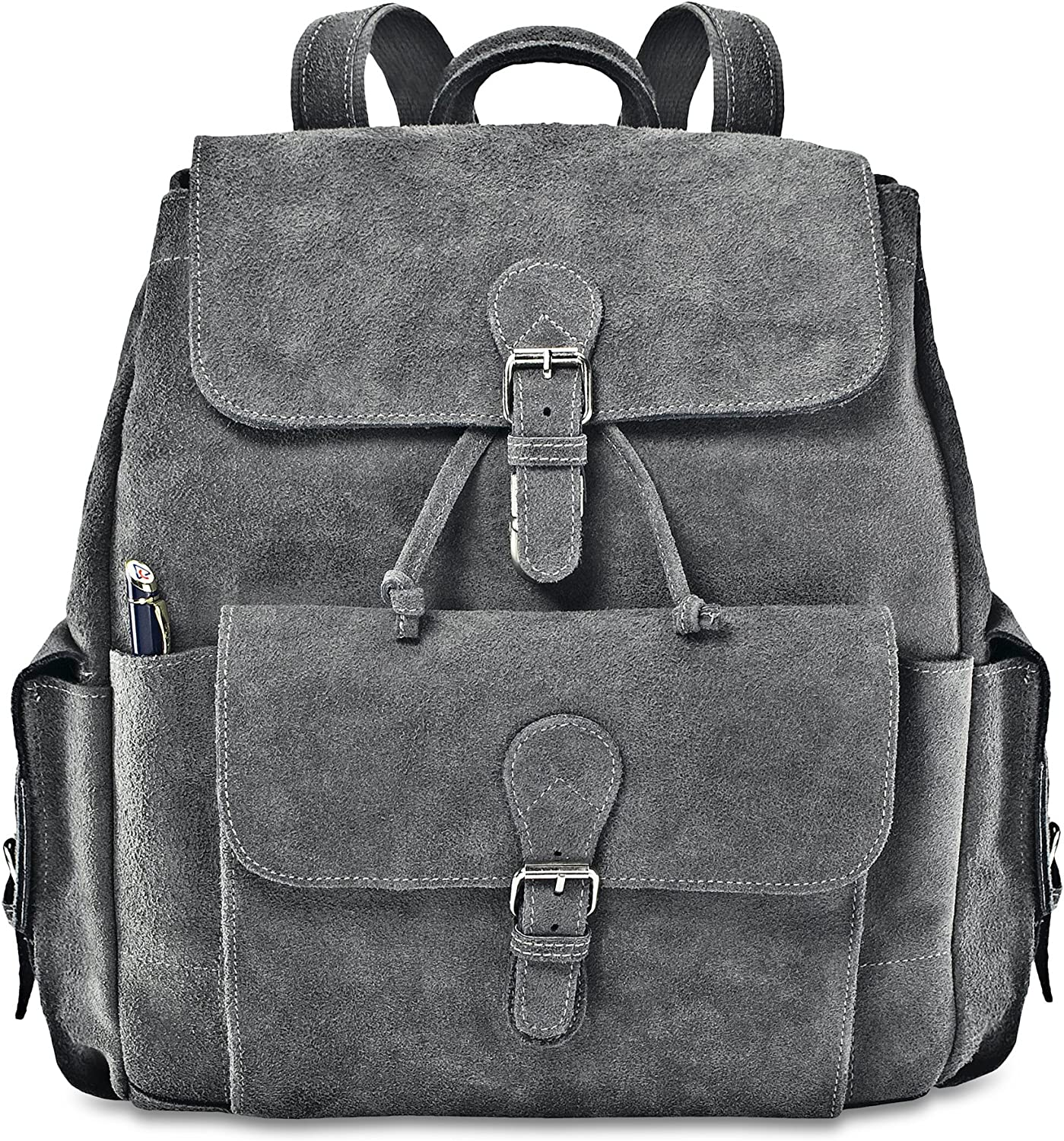 Double Strap Messenger Gray David King /& Co One Size
