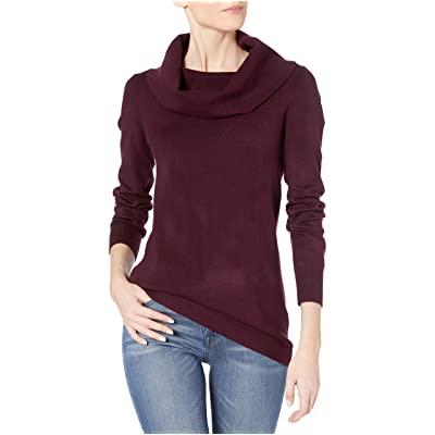 French Connection Women's Babysoft Long Sleeve Soft Solid Pullover Sweater: Clothing