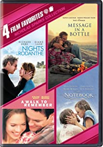 Sweepstakes: 4 Film Favorites: Nicholas Sparks (Message in a Bottle