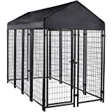 AmazonBasics Welded Outdoor Wire Crate Kennel