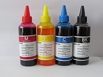 Tinta para recarga cartuchos impresora HP 302 Negro y color Kit ...