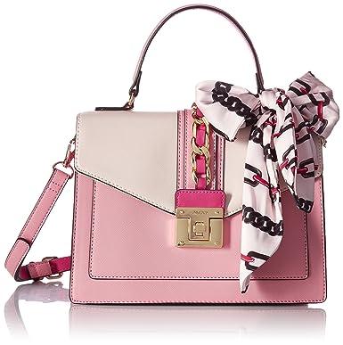 4dba6a14975 Aldo Scilva Top Handle Handbag, Light Pink: Handbags: Amazon.com