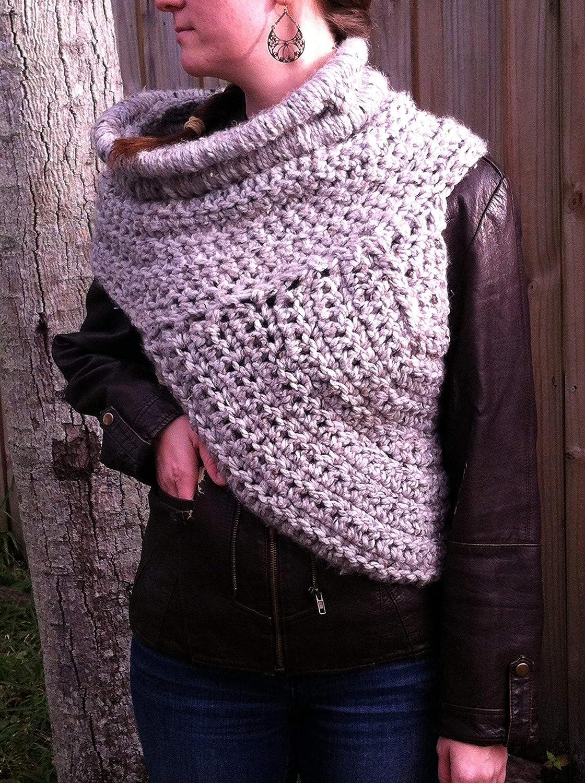 Amazon Crochet Hunger Games Inspired Katniss Cowl Vest Handmade