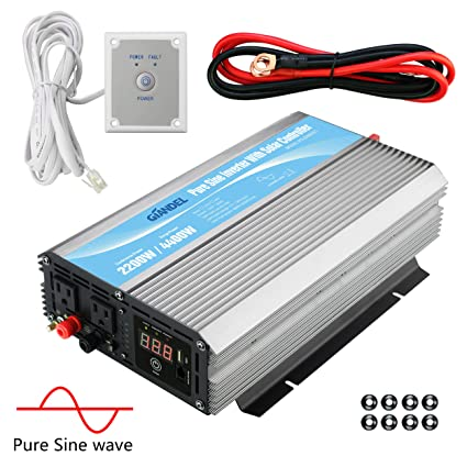 Photovoltaik-zubehör 500w Pure Sine Wave Converter Power Inverter Dc 12v To Ac 220v Invertor Rd To Be Distributed All Over The World Heimwerker