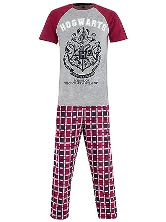 eeda17582165 Harry Potter Mens Hogwarts Pyjamas
