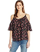 French Connection Women's Anastasia Ditsy Polly Plains Top