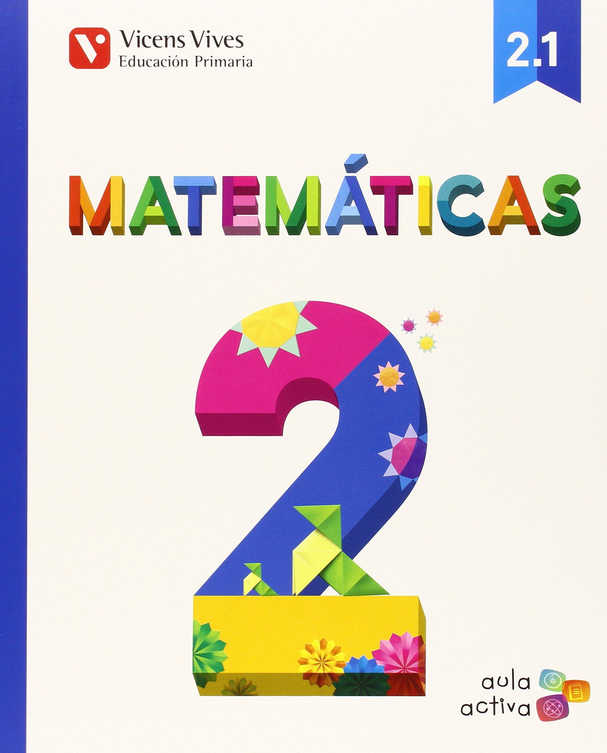 Read Online MATEMATICAS 2ºEP TRIMESTRES MEC 15 AULA ACTIVA VICMAT12EP ebook