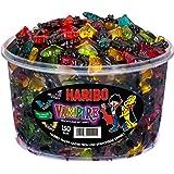 Haribo Vampis, Bonbons Gélifiés Chauve-Souris Goût Fruité / Réglisse, Boîte de 1200 gr