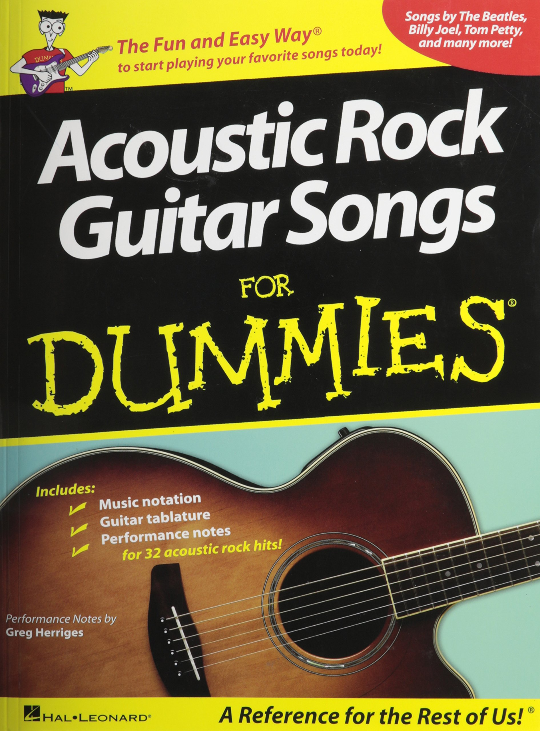Acoustic Rock Guitar Songs Dummies product image