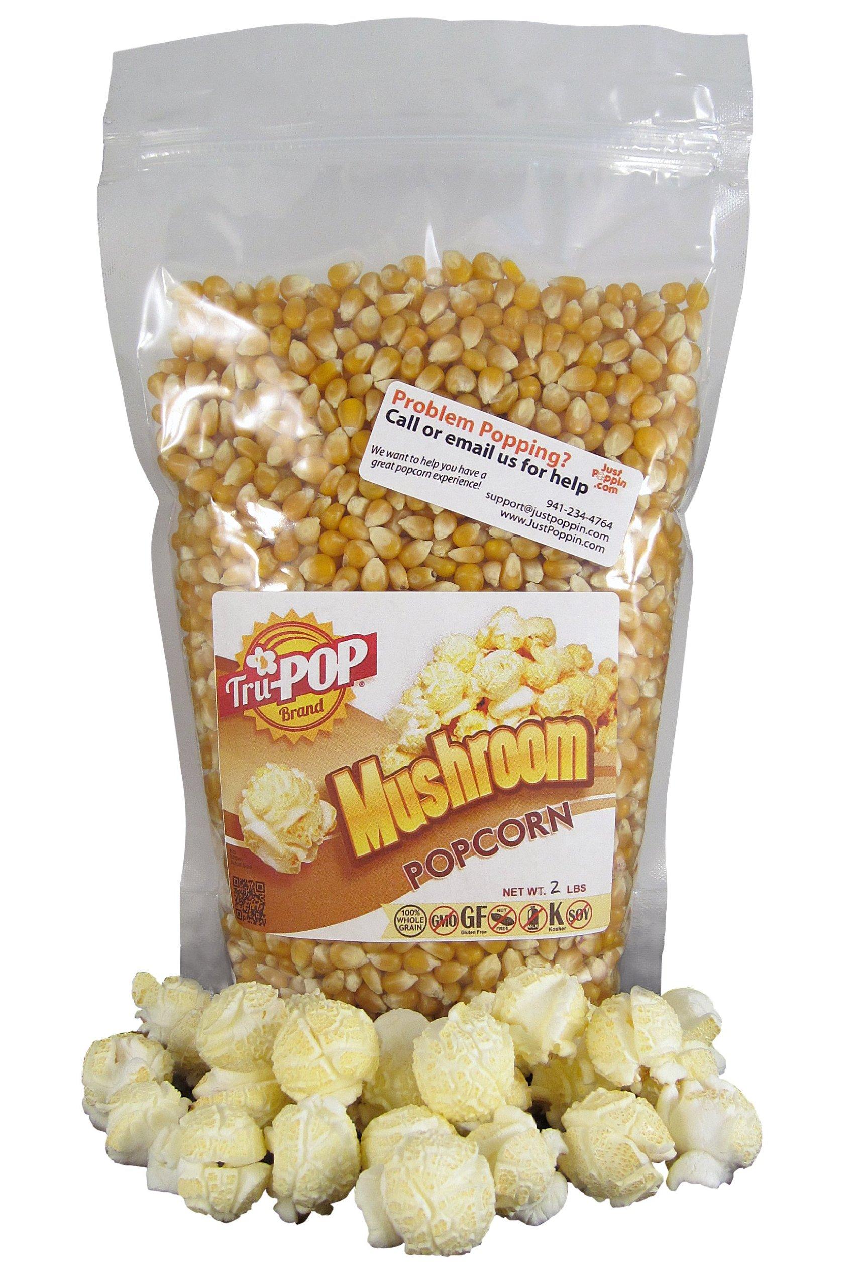 Mushroom Popcorn Kernels 2 Lbs - Just Poppin Brand by Just Poppin