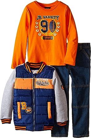 Boys Rock Baby Boys 3 Piece Jacket Set