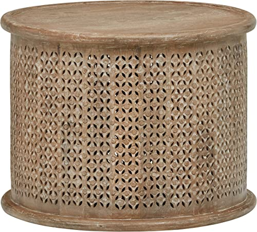 Amazon Brand Stone Beam Commodore Casual Round Coffee Table