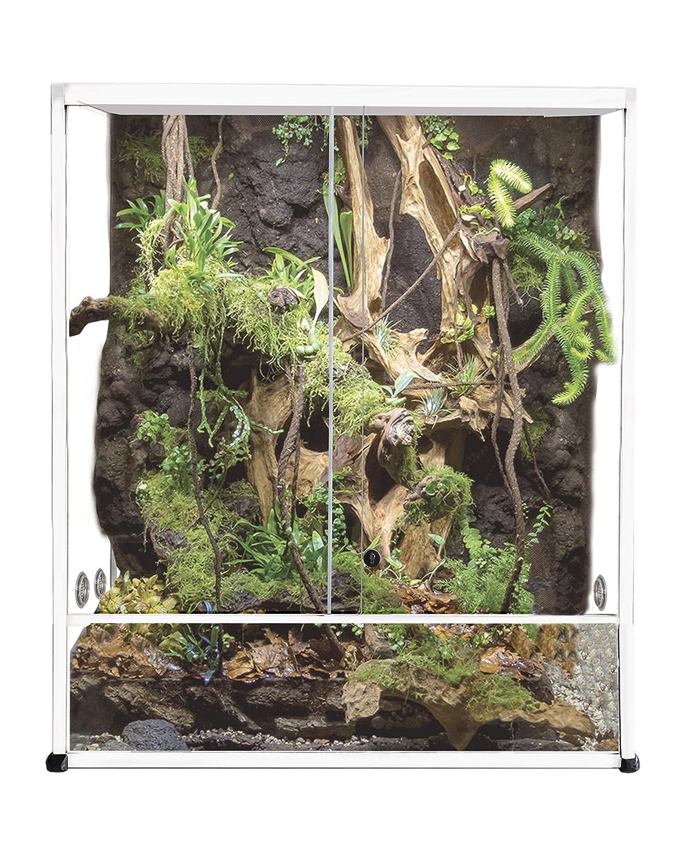 Reptiles Planet Aluminium Elegance Terrarium für Reptilien/# 304weiß 100x 45x 50cm