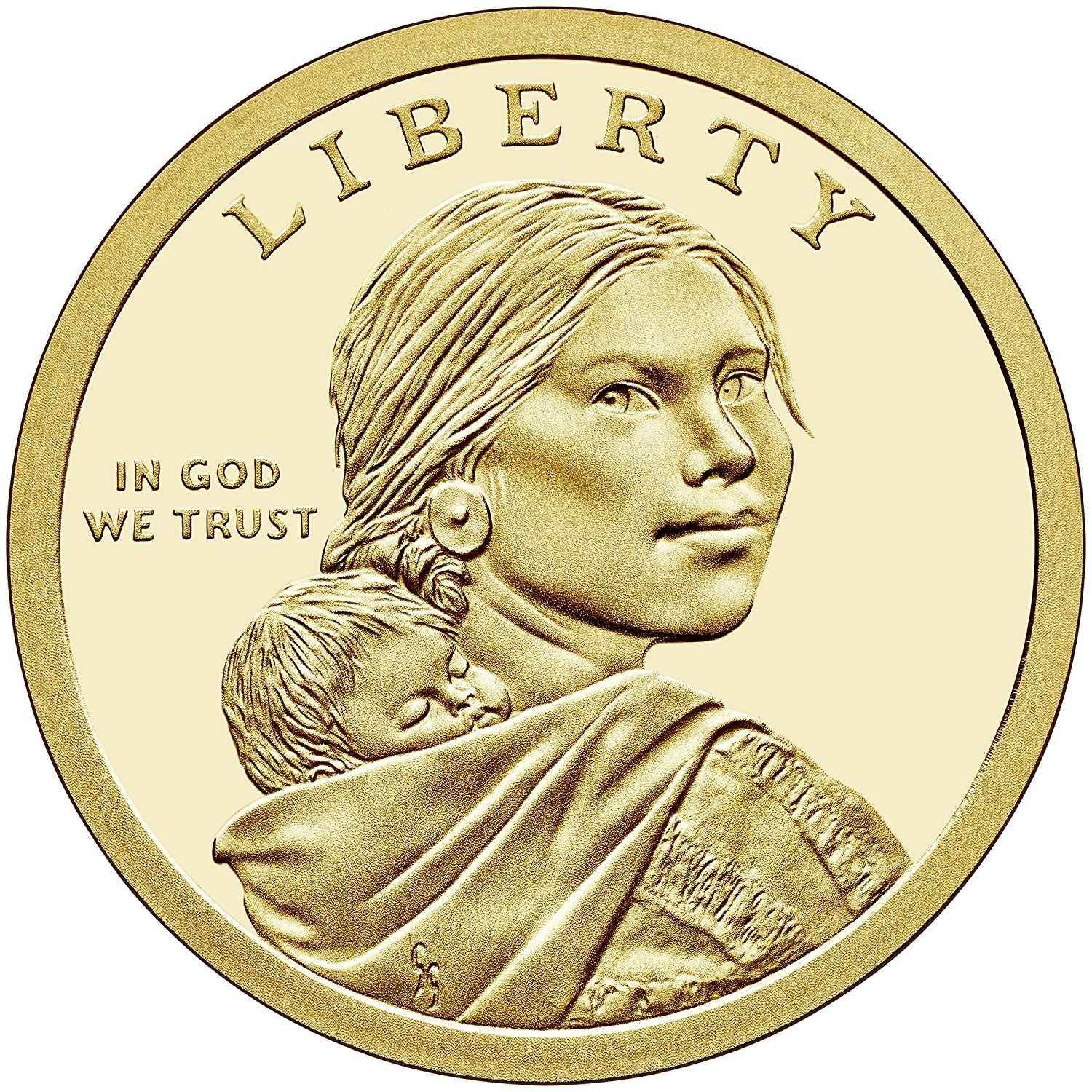 2015D United States Sacagawea $1 Dollar Coin Iron workers