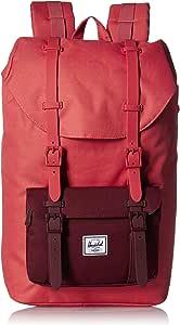 Herschel Little America Laptop Backpack, Mineral Red/Plum, Mid-Volume 17.0L