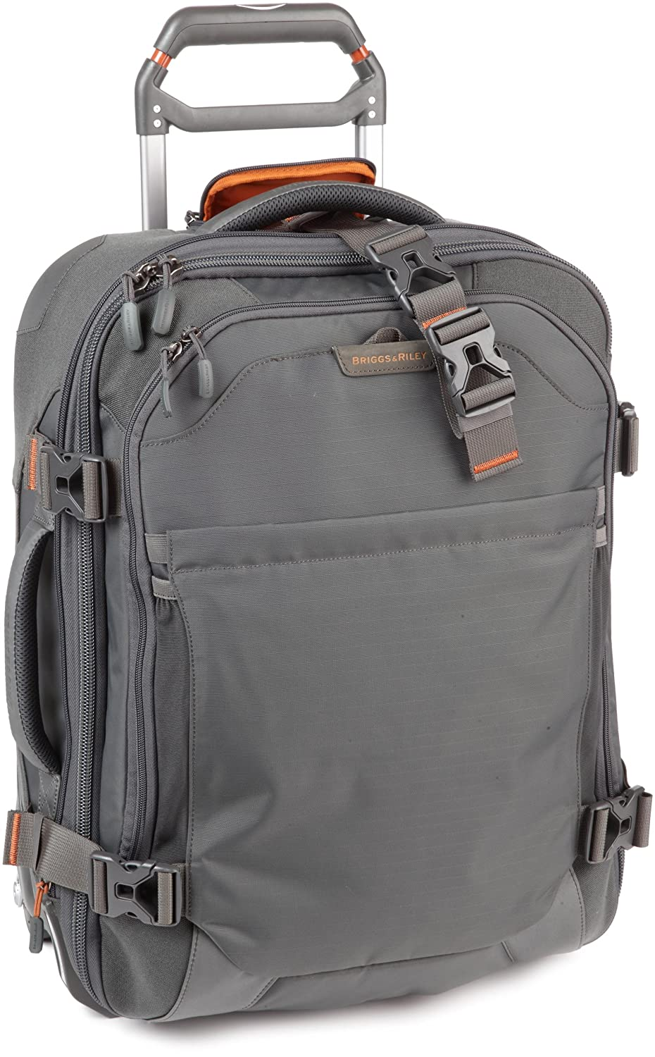 outlet Briggs & Riley BRX  Brx Explore 20 Wide-Body Upright,Slate,20x15.5x8.5 inch