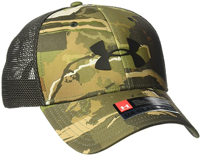 71d5ac92d88078 Amazon.com: Under Armour Men's Camo Mesh 2.0 Cap, Ridge Reaper Camo ...
