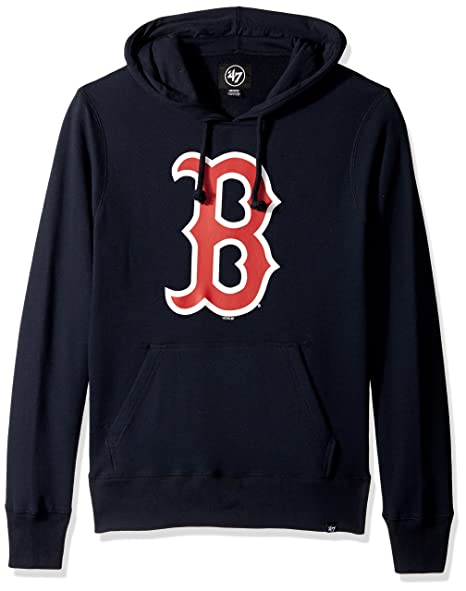 more photos c967d ae39d 47 Brand Men's Boston Red Sox Athletic Pullover Hoodie in Navy