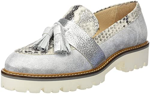Gadea 40592, Mocasines para Mujer, (Movida Plata/Atena Natural), 39 EU: Amazon.es: Zapatos y complementos