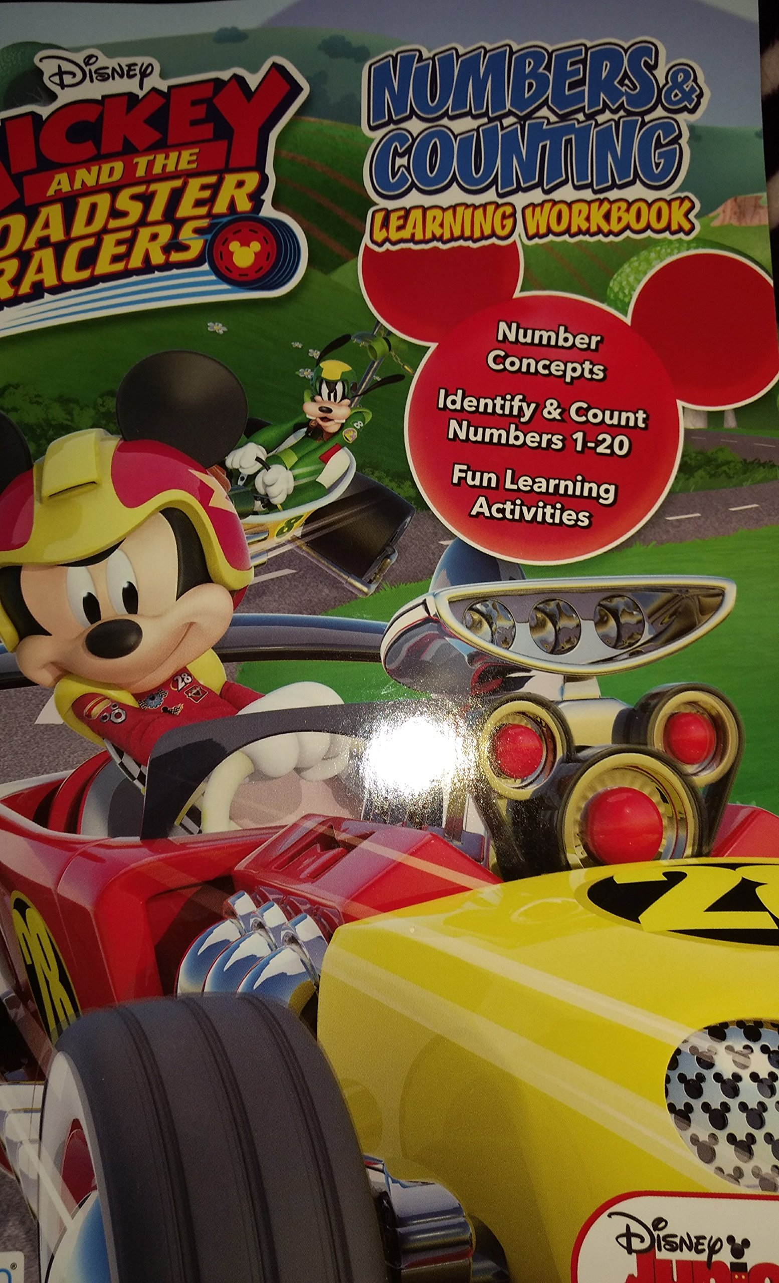 Download Disney Junior Mickey & the Roadster Racers Numbers & Counting Learning Workbook pdf epub