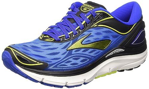 347f7f0066 Brooks Transcend 3 M, Scarpe da Corsa Uomo, Multicolore (Electric Blue/Lime
