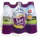 Central Lechera Asturiana Leche Sin Lactosa Semidesnatada - Paquete de 6 x 1500 ml - Total: 9000 ml