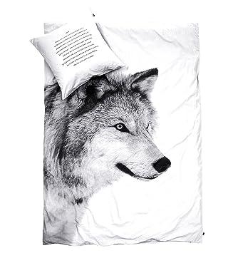 Bettwäsche Wolf Amazonde Küche Haushalt